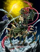 PAGURDUS: THE DEADLY MONSTER by STONE-BLAZER