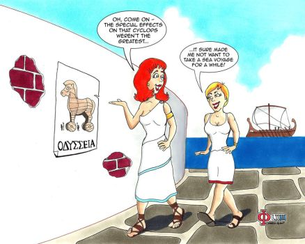 Meanwhile, In Ancient Greece... by Gulliver63