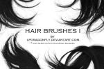 hair brushes I by ivadesign