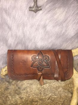 Leather tobacco pouch  by TheGuildedPlane