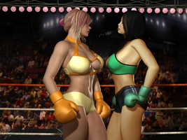 09 The Women Size Each Other Up by cpunch