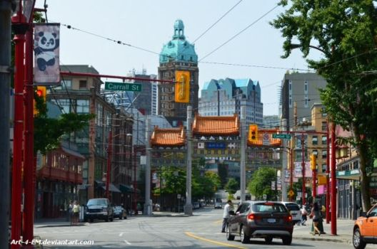 Chinatown Vancouver by Art-4-EM
