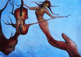 Violin by silviaene