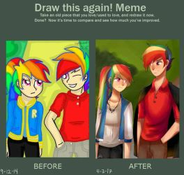 Improvement Meme  by riukime