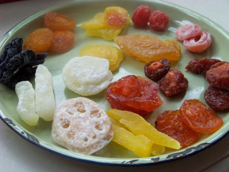 Chinese Dried Fruit by Wisp-Stock