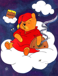 Radio Pooh Colored by BrigetteMora