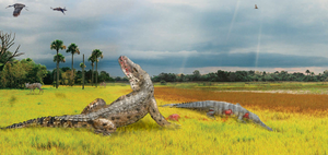 Collab - When Crocodiles Roamed by Zimices
