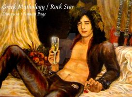 Dionysus  Jimmy Page by beckpage