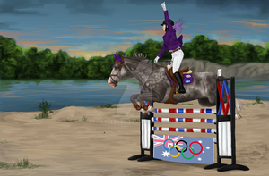 Live it up | AUSe-Olympics Entry by Askeboda