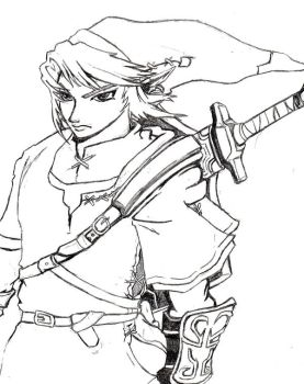 Unfinished link outline by danielrules01