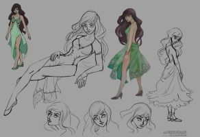 Blushweaver Character Research by SeverineDumagny