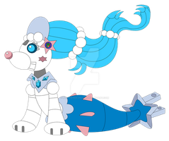 Robo-Primarina (Quick sketch) by KenTheNekomata