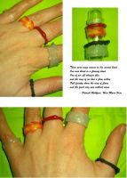 Kvothe's Rings - second hand by DelusionsOfHolbert