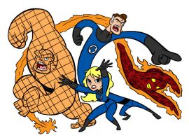Fantastic Four Blair Style by Tombancroft by Kenkira