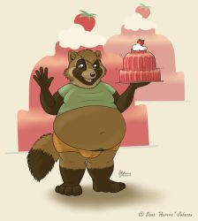 Jello Belly Tanuki by AuroraWolf