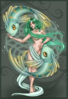 Pisces commission by Harpyqueen