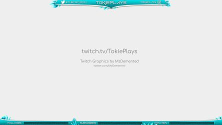 Twitch GFX for TokiePlays by MzDemented
