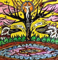 The Moon, The Great Tree and The Fish by retransmission
