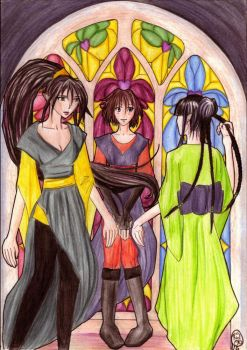 Three Sisters by Liathe