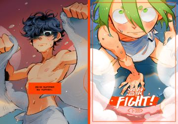 cover of Hot Spring Fight vol 2 by huanGH64