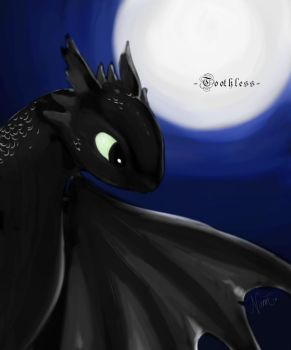 Toothless by thecarefree