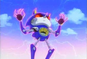 Metal Sonic on drugs by Bobo1806able