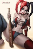 Harley Quinn (Suicide Squad Comic) by dandonfuga