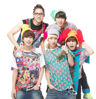B1A4 Render by foreverGIKWANG