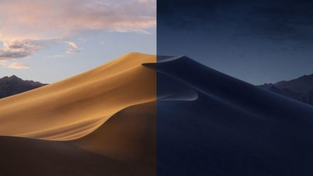 macOS Mojave dynamic wallpapers by hs1987