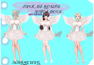 PACK AMOR DOCE UNIVERSITY LIFE ANGEL by Marylusa18