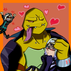 [AT]TMNT:FF-Give her back you creep by PastellTofu