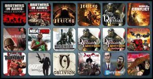 Game Aicon Pack 14 by HarryBana