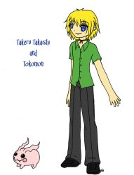 DS: Takeru and Tokomon by KurataSana
