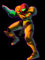 Samus Aran (Video Link) by JAM3RSON
