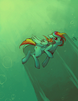 Underwater Dash by Hae-Hyun