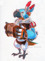 Kass by little-ampharos
