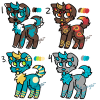 Canine Point Adopts - [CLOSED] by ARangerAdopts