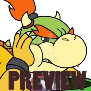 Bowser Jr and Lemmy K Preview by crazymokona