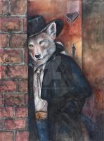 Urban Coyote by badgersoph