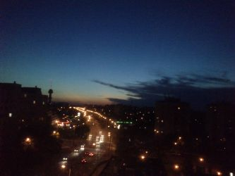 After sunset by Anonymous---Lucifer