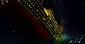 The hour of death Titanic by Admiral-Kevin