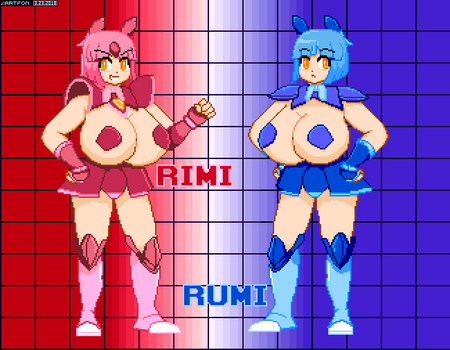 SpriteBlitz 40 - Rimi and Rumi by artfonproduction