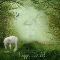 2019 Easter Card by 1Fizgig