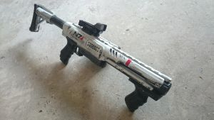 Nerf rampage mod Mass effect by AlTheGeek