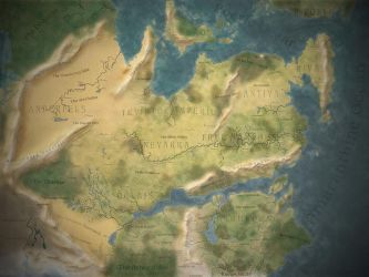 Thedas World Map [Dragon Age] by MartynasB