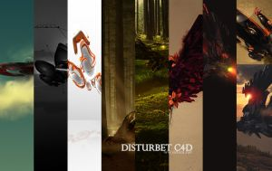 PAck c4d _disturbet by disturbet