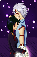 DGM Secret Santa 2k17 - 'Cuddles 2' by CryDontSmile