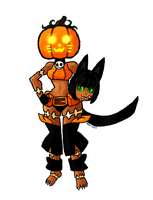 Skullgirls :: Ms Fortune Halloween Color Palette by BillSpooks