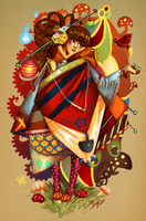 LittleRedDecoHood by GDBee
