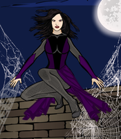 Arachne, Mother of Spiders by Mad-Man-with-a-Pen
